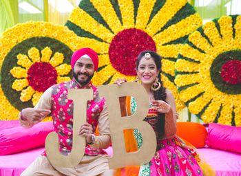 Wedding Photoshoot & Poses Photo initials