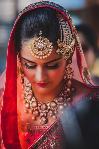Photo of Sikh bride on wedding day
