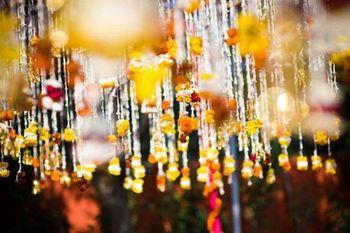Photo of flower hangings