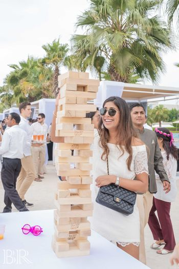Photo of Brunch idea and games giant jenga