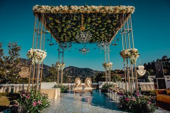 Gorgeous mandap ready for the ceremony