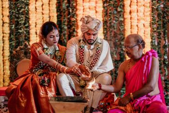 Celebrity south indian wedding