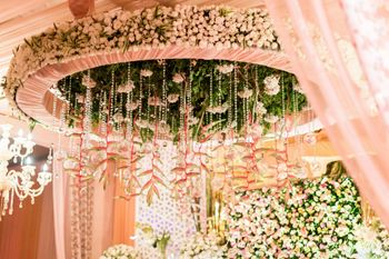 Photo of Floral chandelier