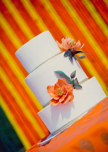 Orange Cakes Photo