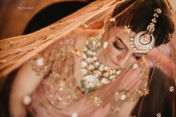 Photo of Unique bridal jewellery with maangtikka