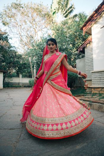Photo of Lehenga by Mysore Silk Udyog and Shradhha Ponappa Designs
