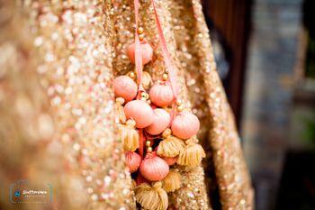 peach and gold latkans