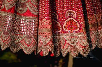 Details of the gorgeous Ananmika Khanna bridal lehenga
