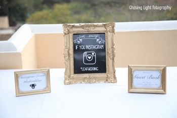 Photo of Frame with Instagram Hashtag