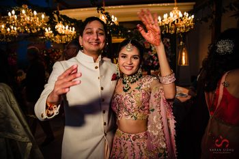 Photo of Bride & groom on wedding day