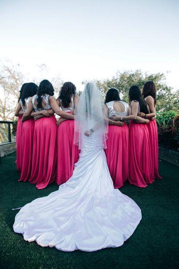 Photo of bridesmaid photos