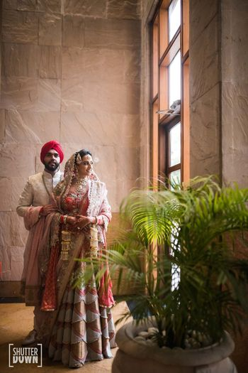 Photo of Offbeat bridal lehenga Anamika Khanna
