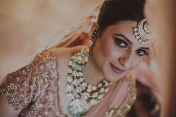 Photo of Unique bridal portrait and jewellery