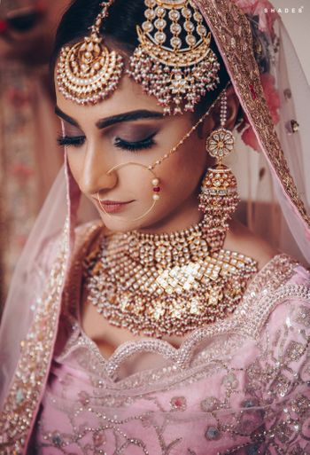 Photo of A dazzling bridal shot.