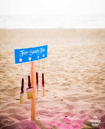 beach wedding idea