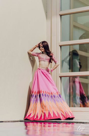 Photo of Pretty mehndi outfit