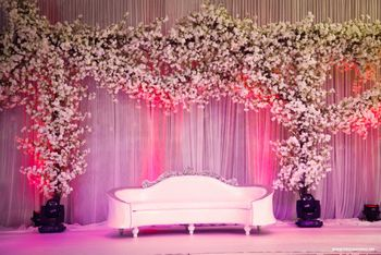 Elegant stage decor