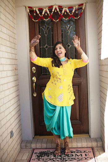 haldi outfits