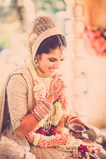 Photo of bridal dupatta