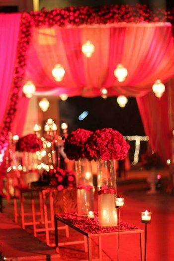 Photo of Glamorous decor for wedding