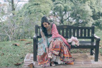 Photo of Pretty bridal getting ready shot for wedding