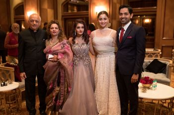 Alia Bhatt with her cousin on the reception