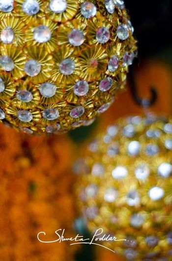 Photo of gold and silver balls