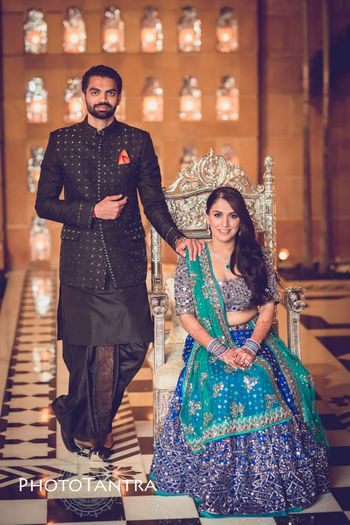 Photo of Groom wear unique sangeet outfit