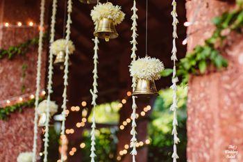 Hanging bell decor