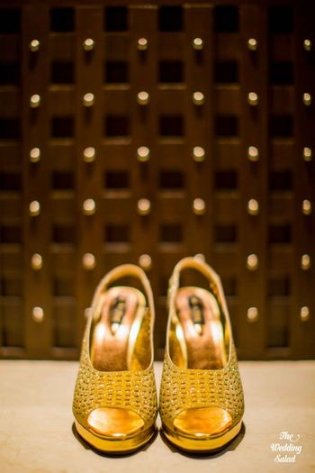 Gold Wedding Accessories Photo
