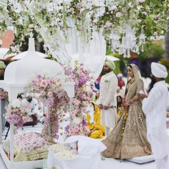 Photo of Floral dreamy mandap decor idea