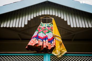 Photo of Quirky lehenga on hanger