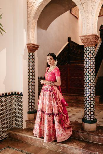 Photo of banarasi bridal lehenga