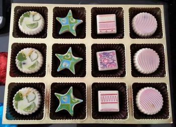 Photo of chocolates in different shapes