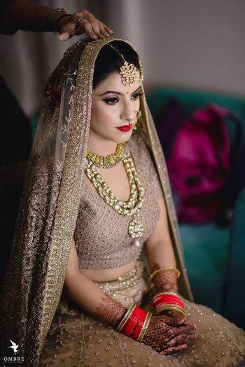 Photo of A bride getting ready
