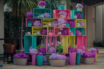 Photo of Beautiful DIY decor with carton boxes for mehendi