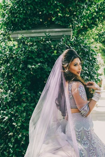 Photo of Lavender lehenga
