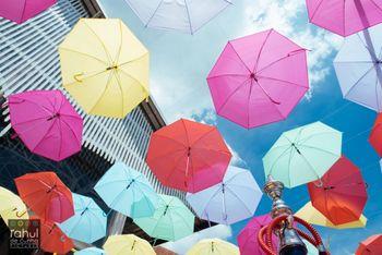 umbrella ceiling decor
