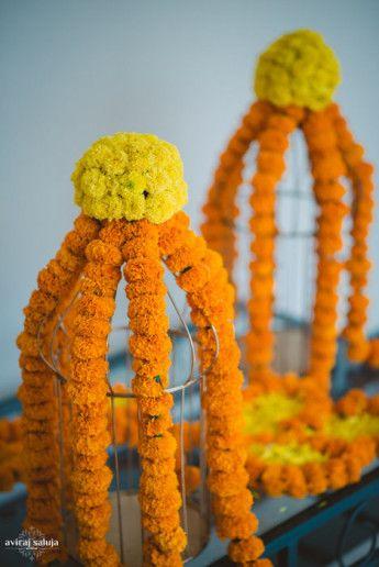 Photo of marigold flowers