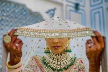 Photo of Bridal veil shot.