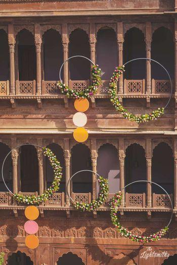 Photo of Giant Nath floral decor ideas