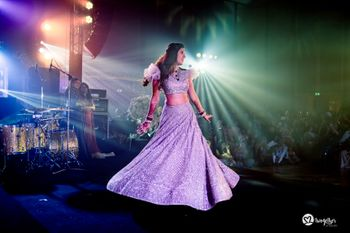 Photo of twirling lehenga shot