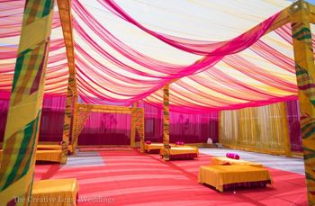 Photo of leheriya tenting