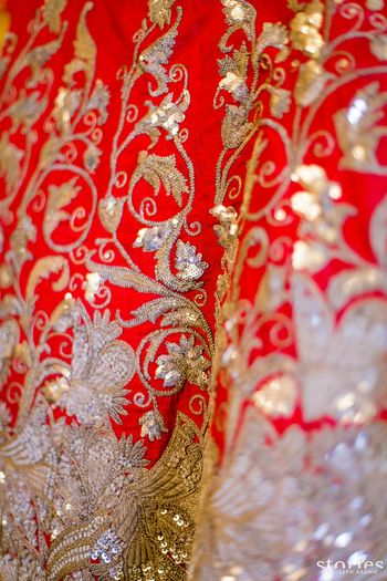 Photo of Red lehenga