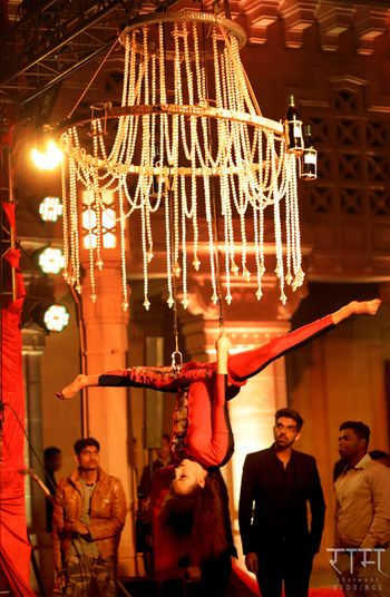 Photo of Acrobatic performance for guests