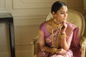 Photo of grand south indian bridal jewellery ideas in gold
