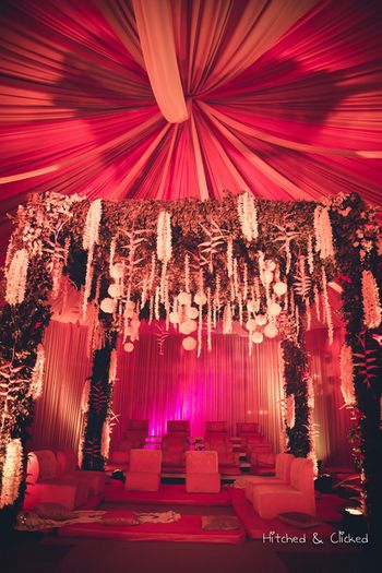 Photo of Floral mandap