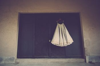 offbeat bridal outfit