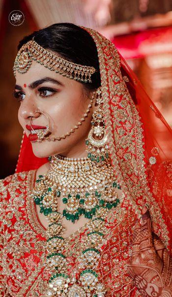 pretty bridal portrait