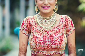 Photo of Layered bridal jewellery ideas